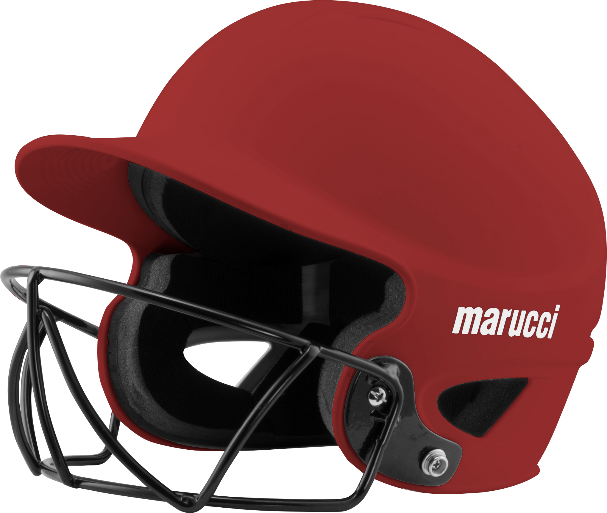 Marucci fastpitch batting with. Baseball helmet png