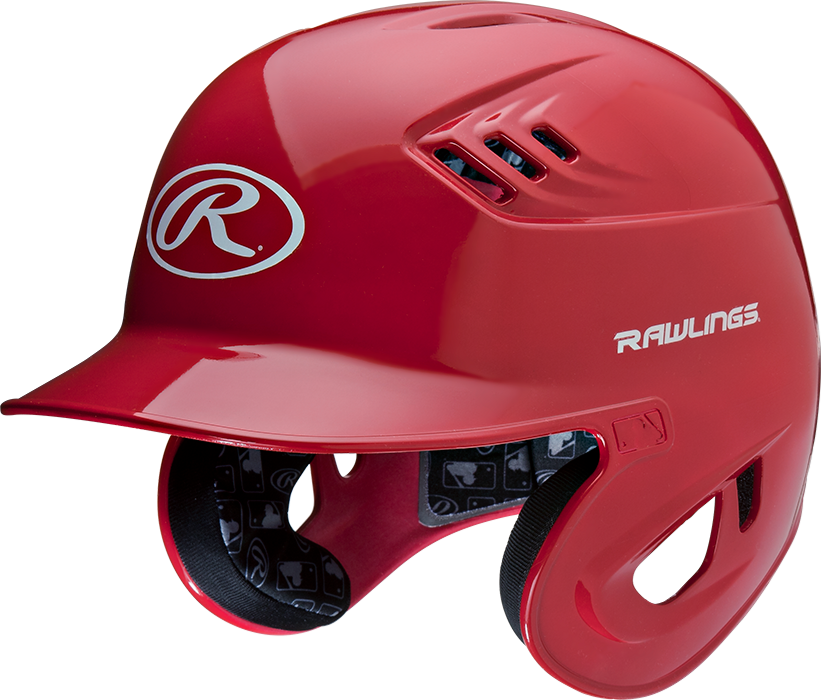 Baseball helmet png. Rawlings clear coat coolflo