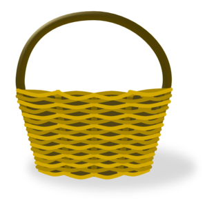 Clip art at clker. Basket clipart