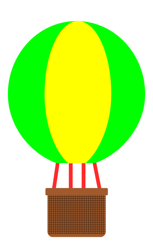 Hot air balloon clip. Heat clipart cartoon