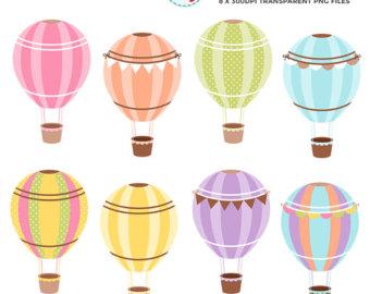 Basket clipart balloon. Hot air balloons clip
