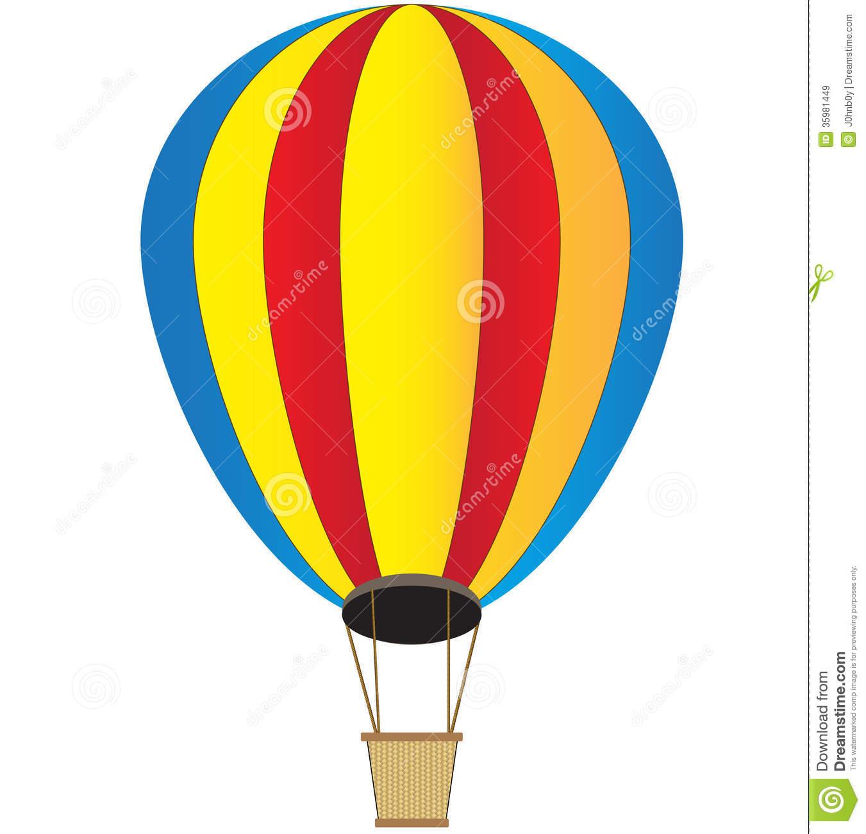 Hot air drawing at. Basket clipart balloon