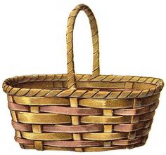 Basket clipart brown basket. Free cliparts download clip