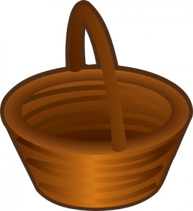 Basket clipart brown basket. Bushel panda free images
