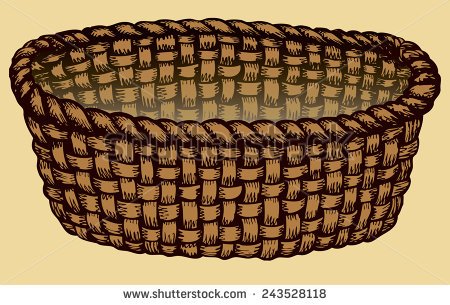Free cliparts download clip. Basket clipart brown basket
