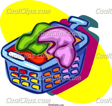 Laundry free download best. Basket clipart cartoon