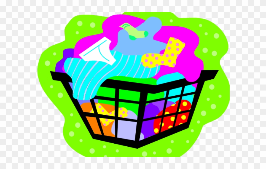 Changing clothes png . Basket clipart clothing
