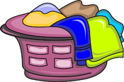 Search results for clothes. Basket clipart clothing