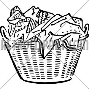 Filthy clothes clip art. Basket clipart clothing
