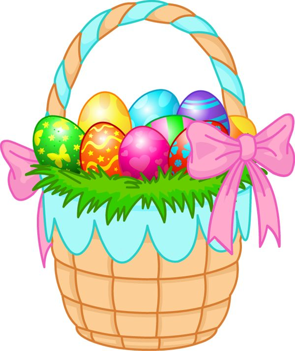 collection of high. Basket clipart easter egg