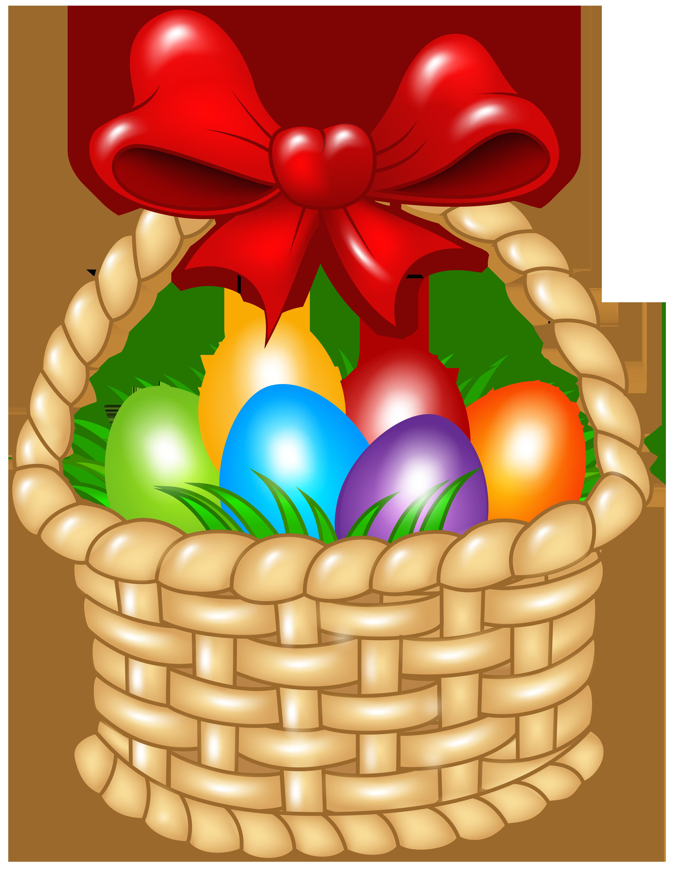 Easter basket transparent png. Raffle clipart hampers