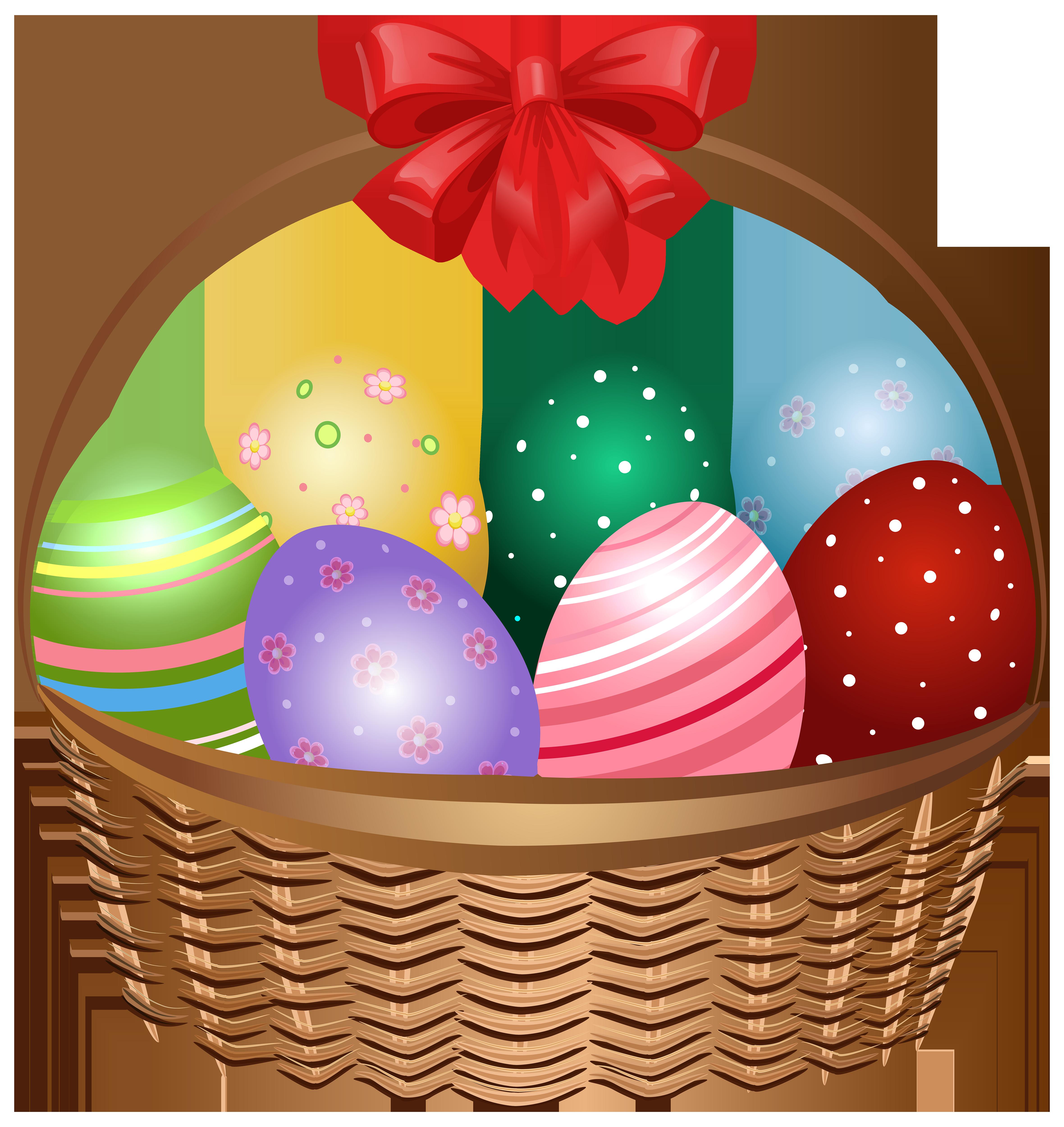 Easter clip art image. Water clipart basket