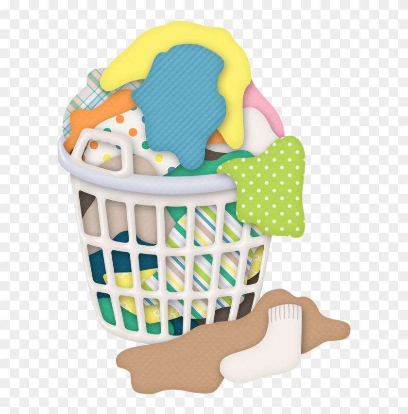 laundry basket clip. Clothes clipart basketball