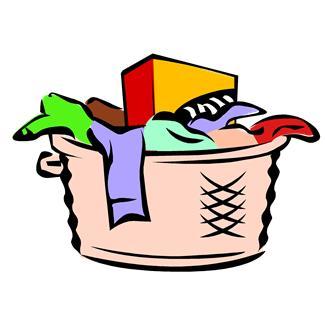 basket clipart laundry basket