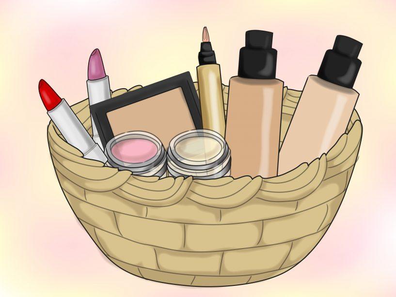 Jokingart com . Basket clipart makeup