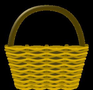 Basket clipart picnic basket. Clip art at clker