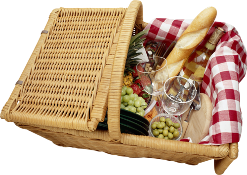 Basket clipart picnic basket. Gallery yopriceville high quality