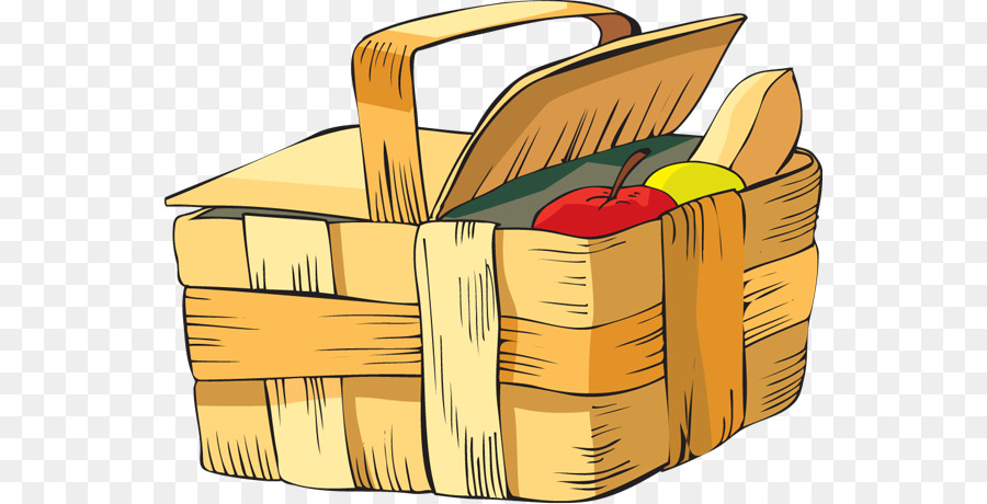 Basket clipart picnic basket. Baskets clip art summer