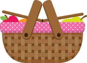 best images on. Basket clipart picnic basket