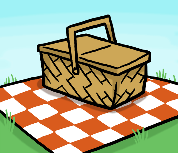 Cliparts zone rjm. Blanket clipart picnic mat