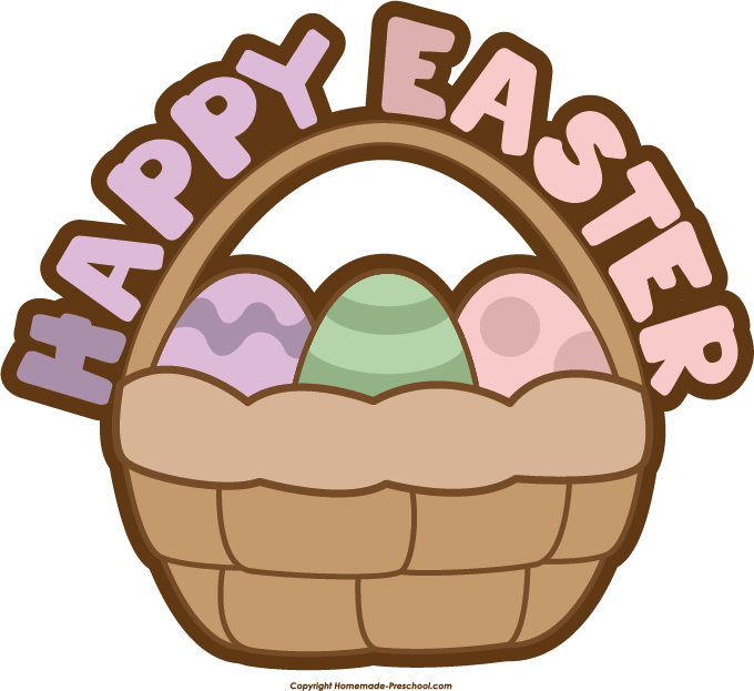 Basket clipart simple. Free easter click to
