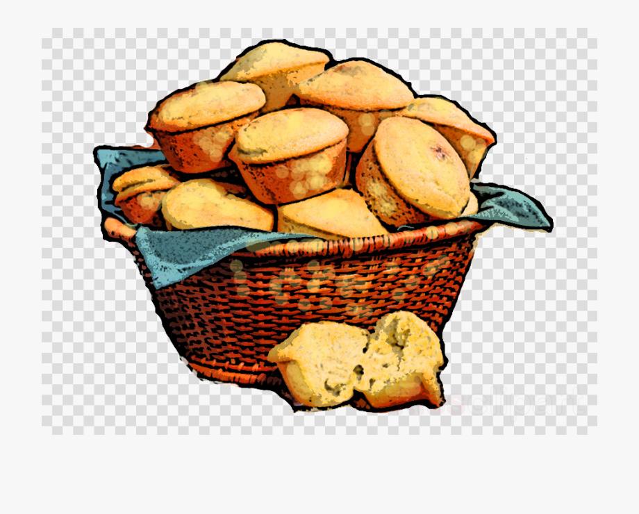Basket clipart simple. Bread food transparent png