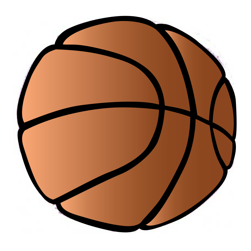 Free transparent clip art. Basketball clipart clear background