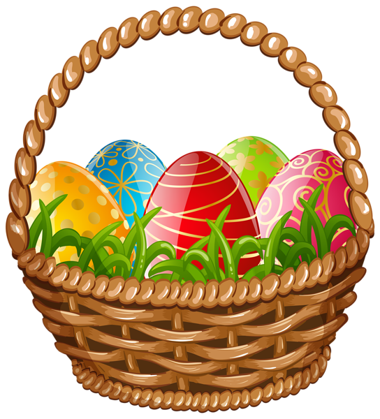 Easter egg basket png. Eggs clipart chocolate
