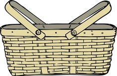 Basket clipart woven basket.  best images in