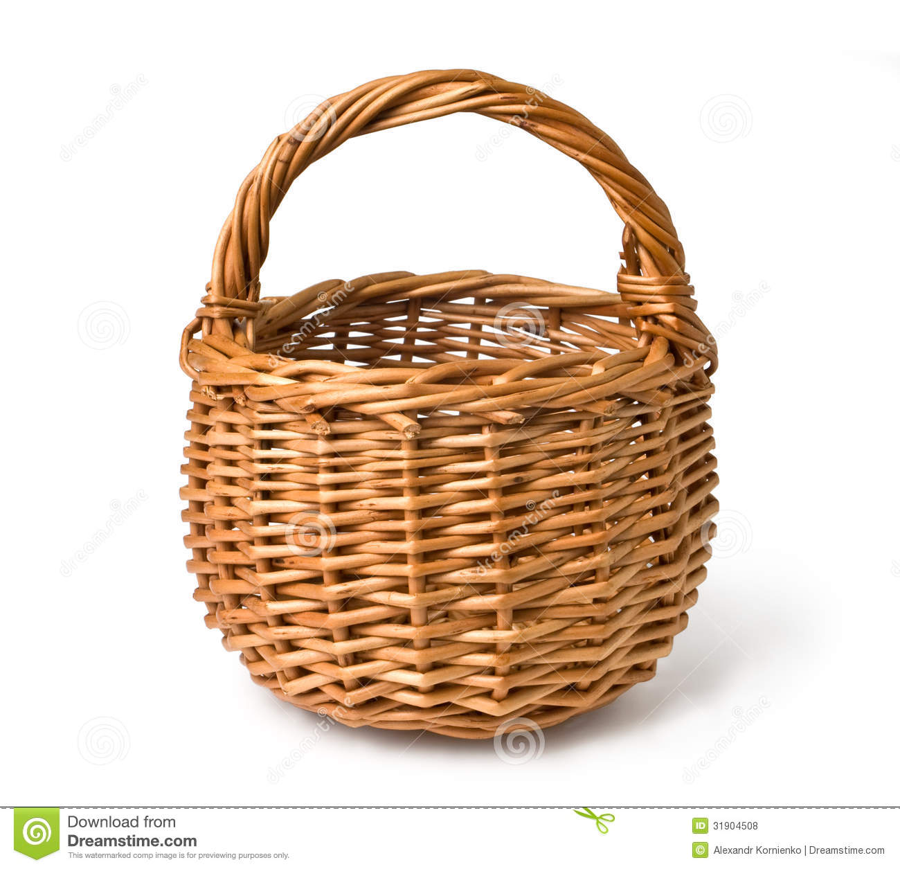 collection of empty. Basket clipart woven basket