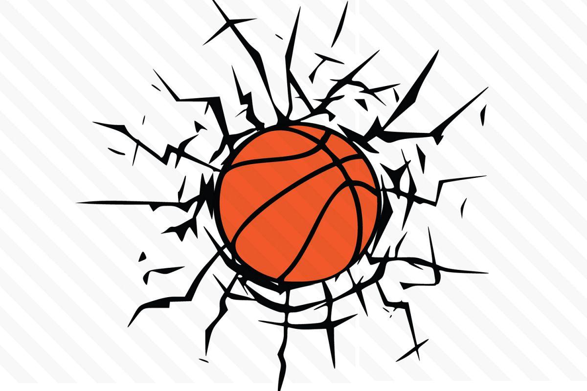 Svg vector . Basketball clipart