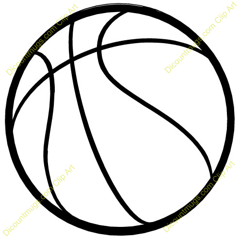 Free images clipartix . Basketball clipart basic