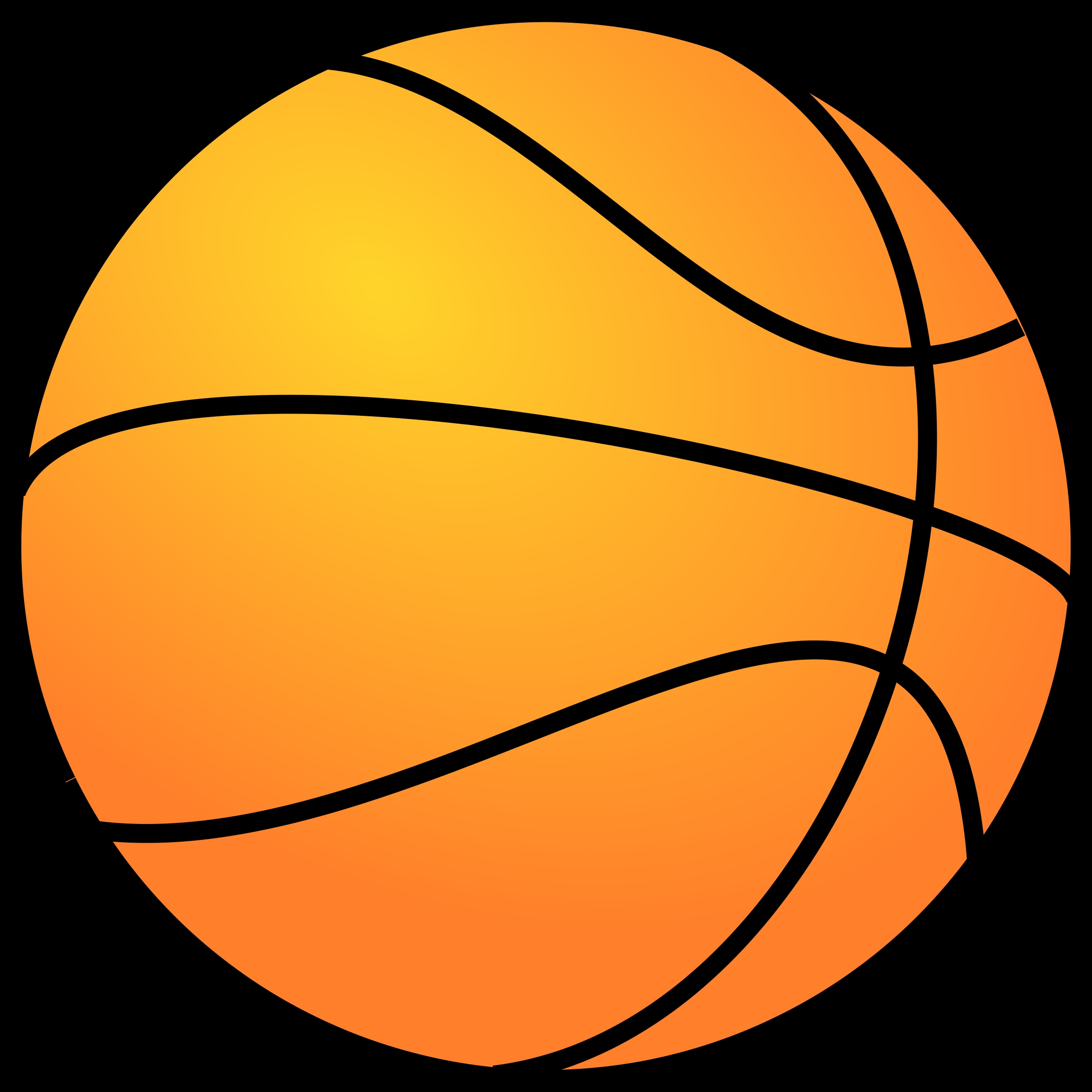 Basketball clipart basic. Awesome design digital collection