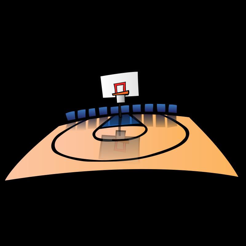 Basketball clip art panda. Court clipart court order