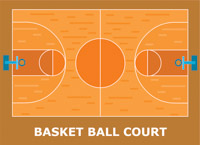 Sports free to download. Basketball clipart basketball court