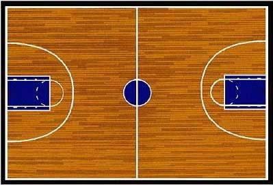 Basketball clipart basketball court. Station
