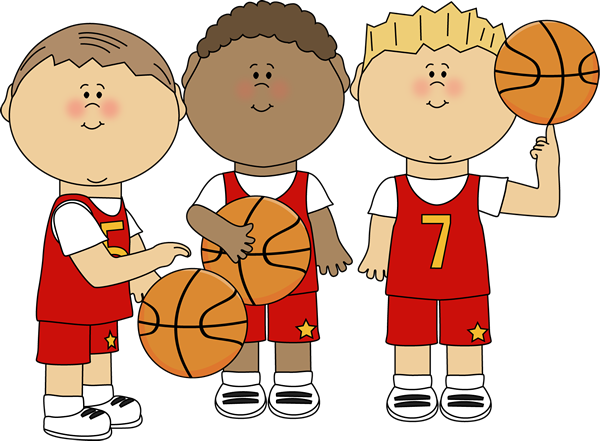 Basketball clipart basketball player. Boy players clip art