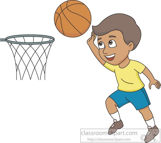 Boys clipart basketball player. Sports free to download