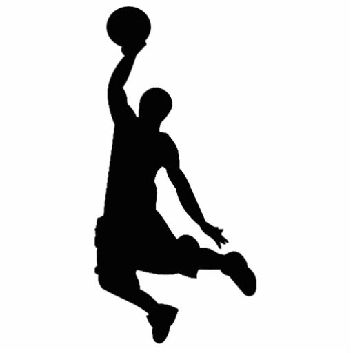 Silhouette images basketballplayersilhouettephotocutout . Basketball clipart basketball player