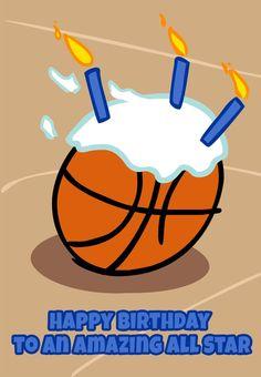 Anyone who likes sports. Basketball clipart birthday