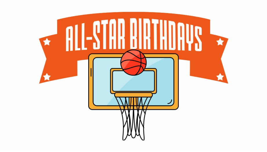 Basketball clipart birthday. Slam dunk transparent png