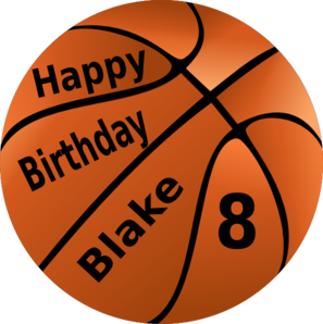 Happy . Basketball clipart birthday