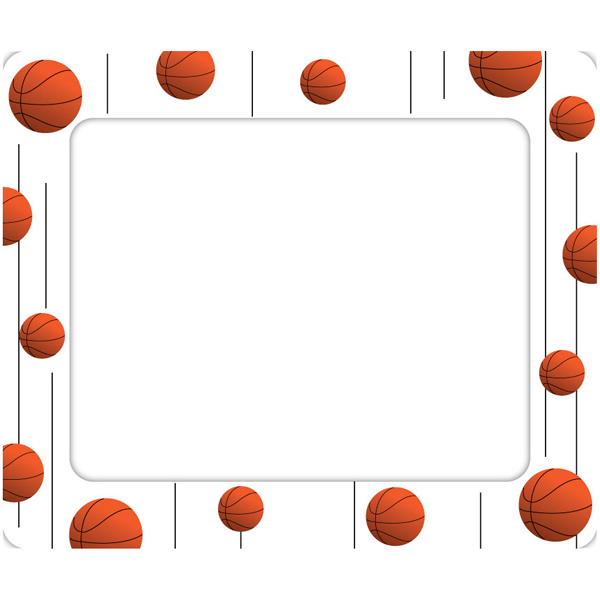 Basketball clipart boarder. Free frame cliparts download