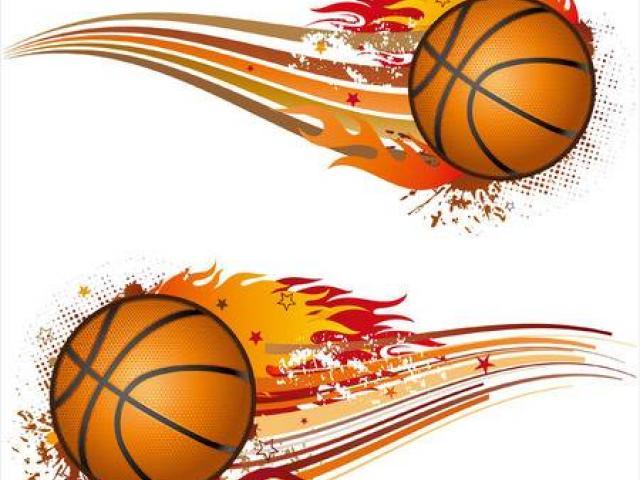 X free clip art. Basketball clipart border