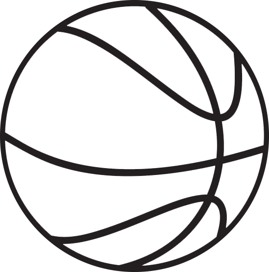 Clip art clipartix . Basketball clipart clear background