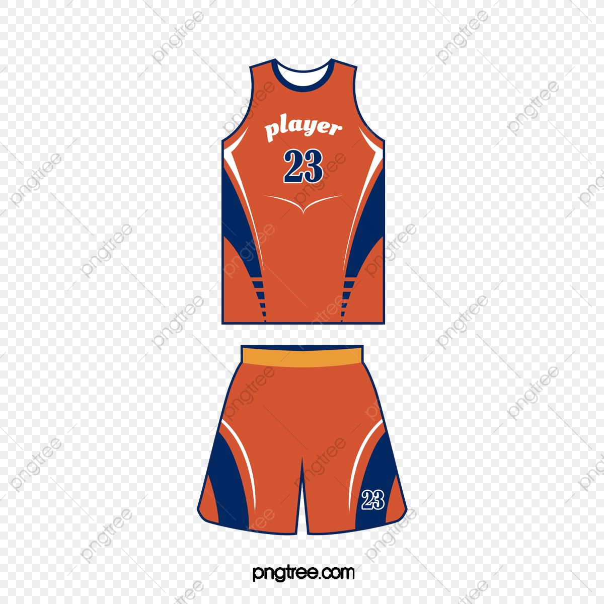 Clothes clipart basketball. Cartoon orange number