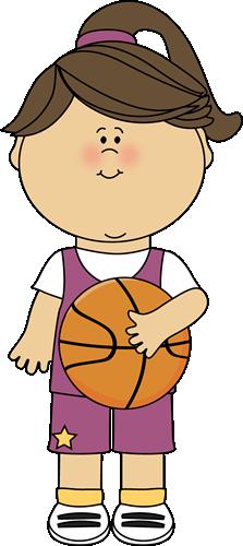 Basketball clipart cute. Clip art images girl