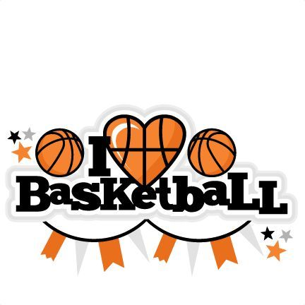 Basketball clipart cute. Pin on