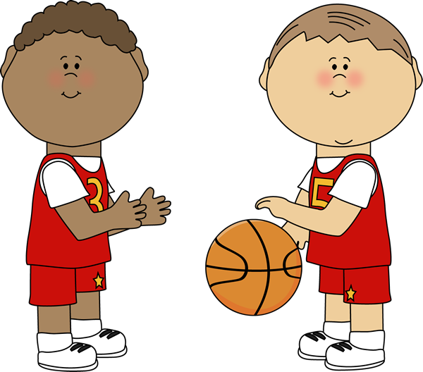 Triangular clipart kid. Basketball clip art images