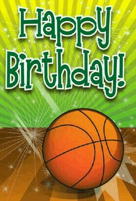 Basketball Clipart Happy Birthday Basketball Happy Birthday Transparent Free For Download On Webstockreview 2020